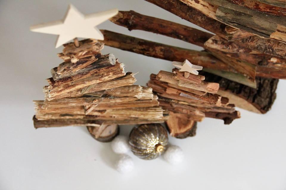Mr. Nadelfrei, Holzbaum, Tannenbaum, Weihnachtsbaum, Weihnachten, Weihnachtsdeko