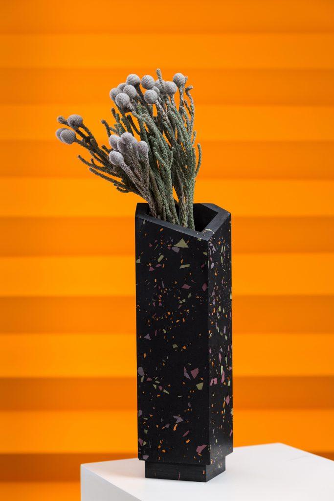Vase, frauklarer, Beton, Jesmonite, Wohnaccessoires, handgemacht, puristisch, raffiniert, Linz