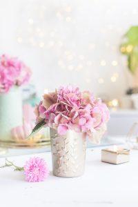 DIY, Vasen, basteln, Upcycling, Babygläschen, Glas, Geschenkidee, malen