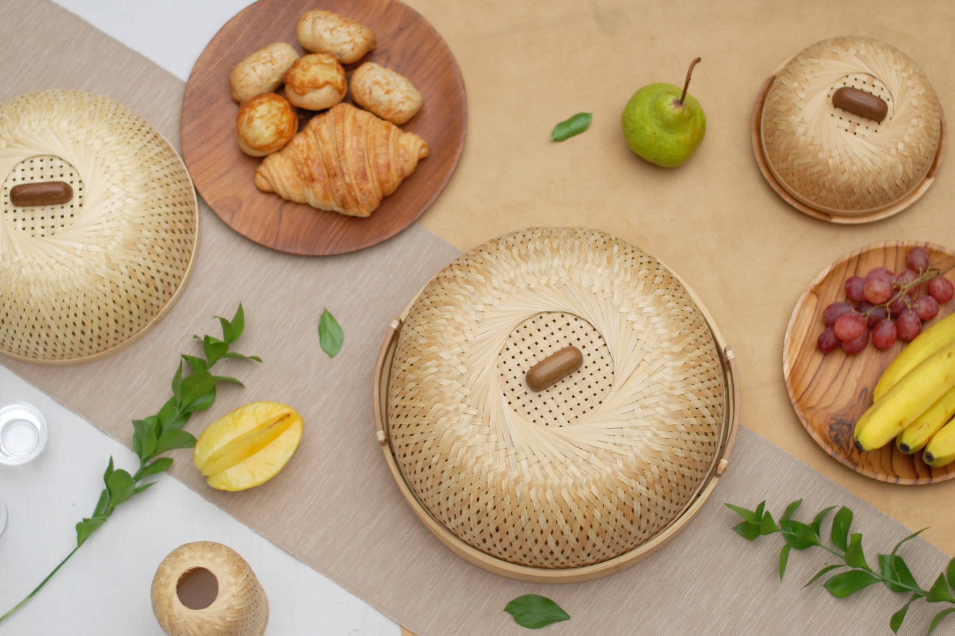 Studio Dapur, Bambus, Bambusgeschirr, Handarbeit, Indonesien, handgemacht, Bamboo