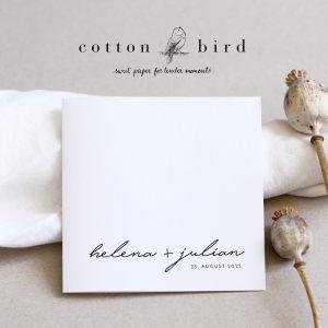 cottonbird papeterie Hochzeit