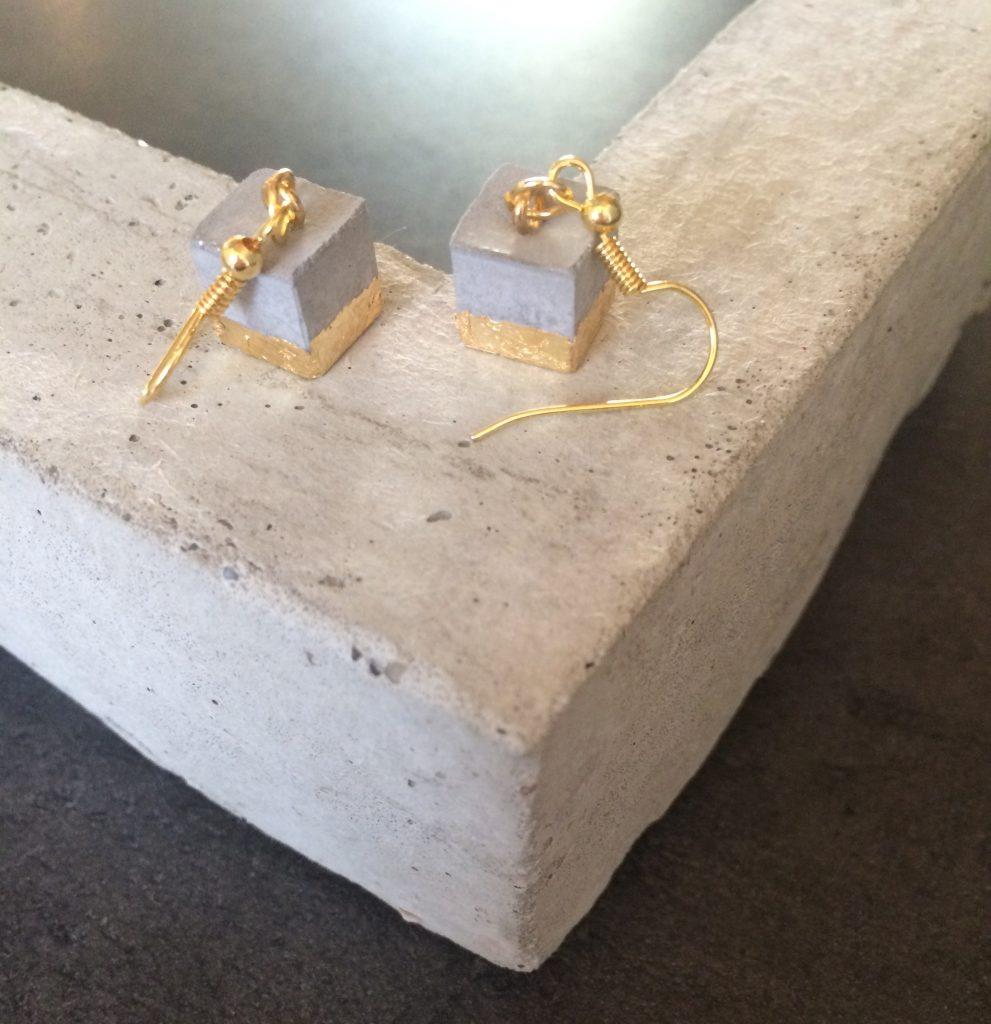 GlanzundSchimmer Ohrringe-handgemachter Schmuck