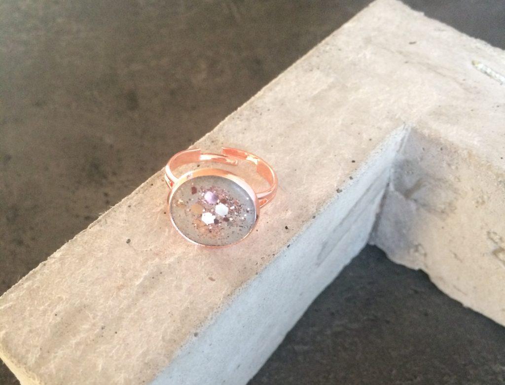GlanzundSchimmer Ring handgemacht