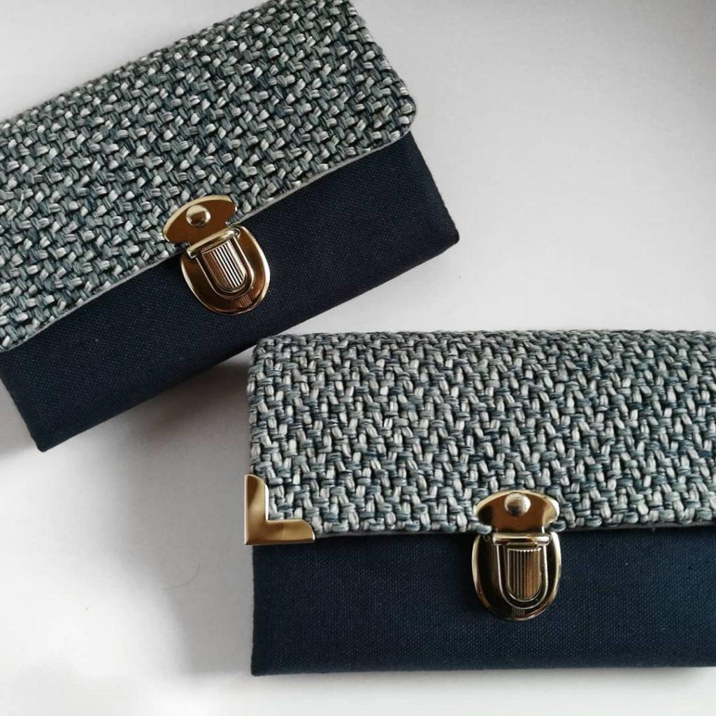 Taschenschatz Geldbeutel handgenäht