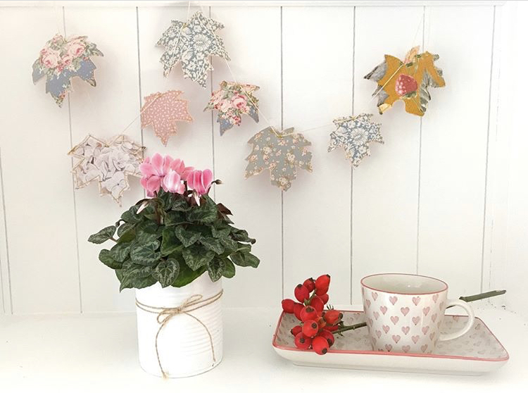Teddyherz-DIY-Herbstdeko-Girlande-Pflanzendeko-Upcycling