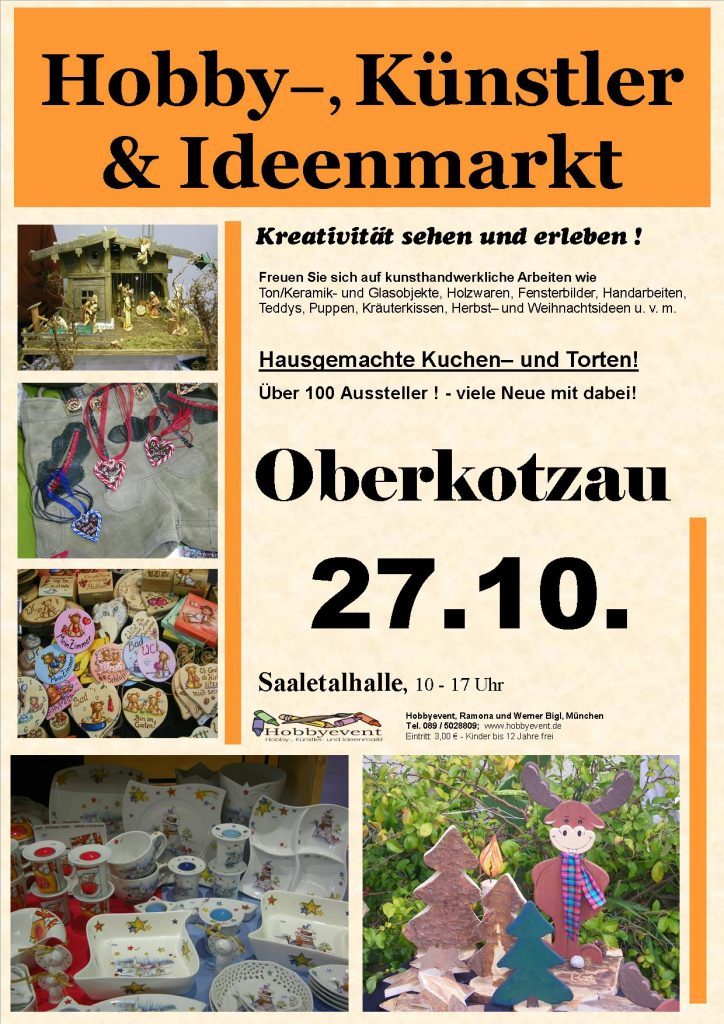 Hobby-Künstler-Ideenmarkt Oberkotzau