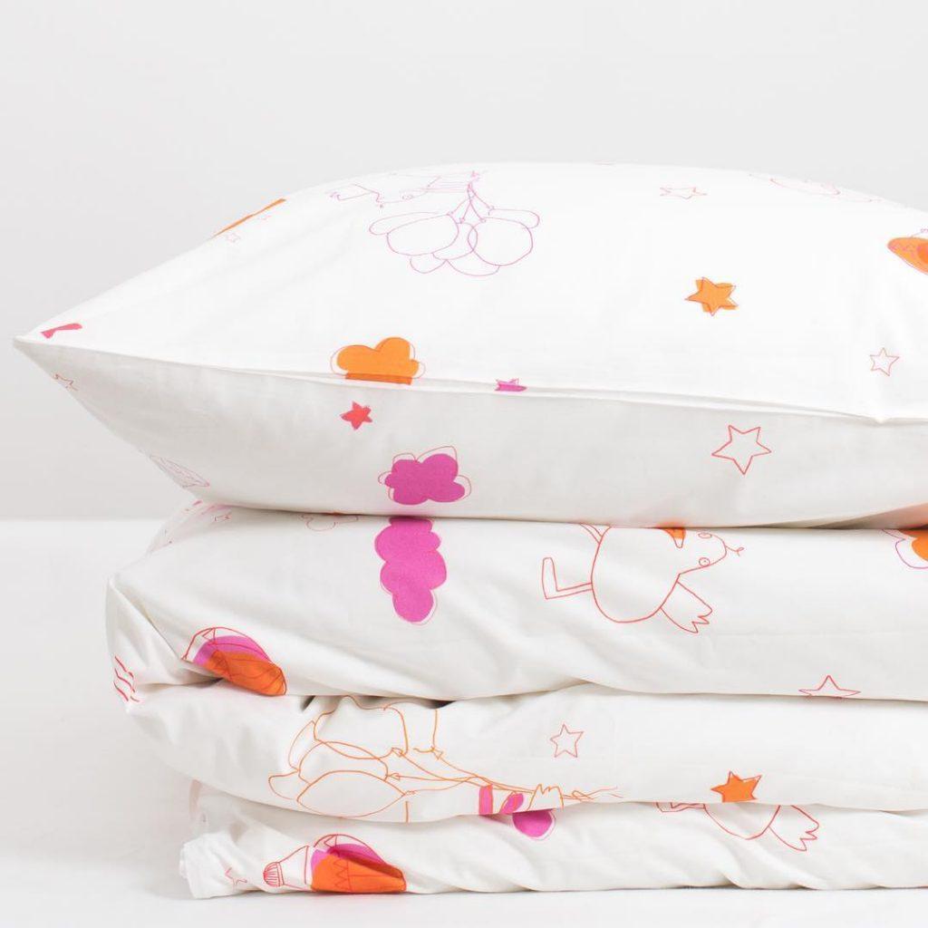 Katha-Covers-Kinderbettwäsche-Enten-Baumwolle
