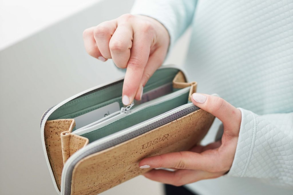 UlStO-Korkgeldbeutel-handgenäht