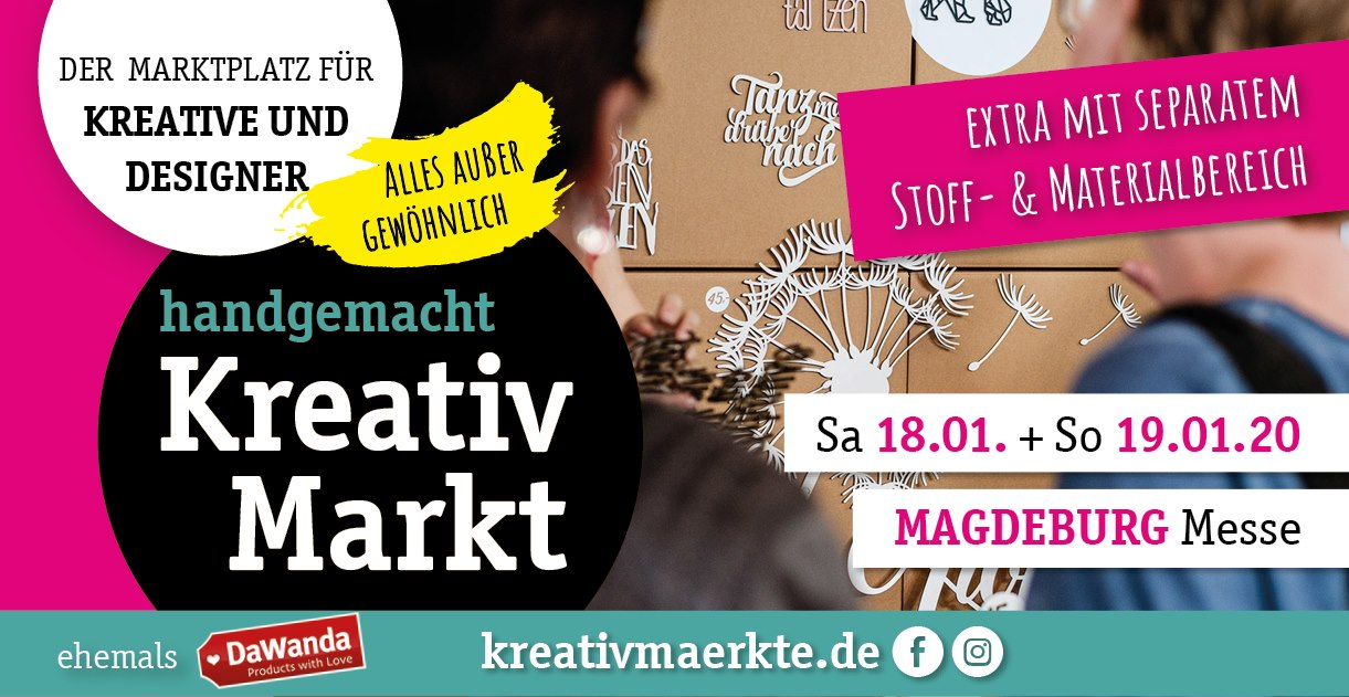 Kreativmarkt Magdeburg 2020