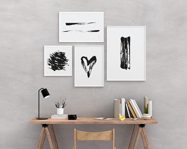 Poster-Valentinstag-Love-Print-Wanddeko