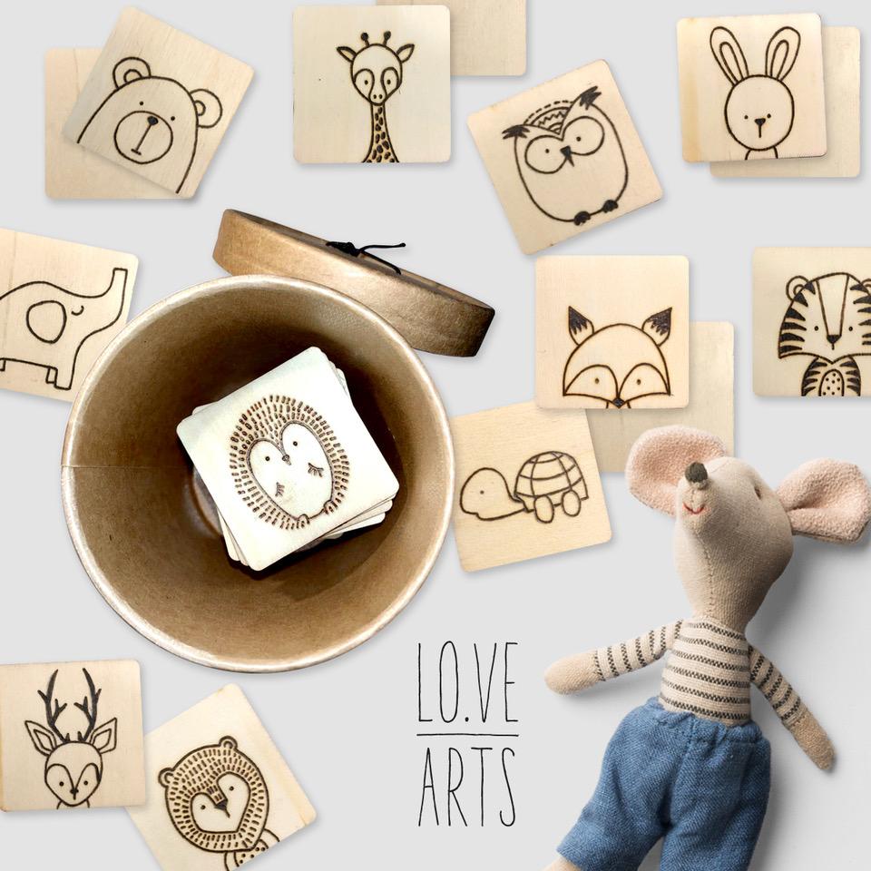 Lovearts-Kinder-Memory-Handgemacht-Personalisierte-Geschenke
