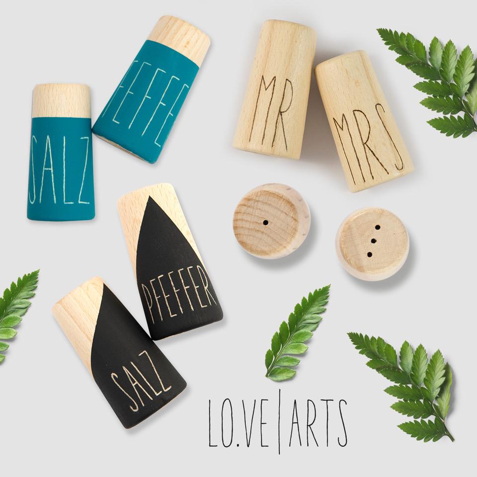 Lovearts-Salzstreuer-Pfefferstreuer-Handgemacht-Personalisierte-Geschenke