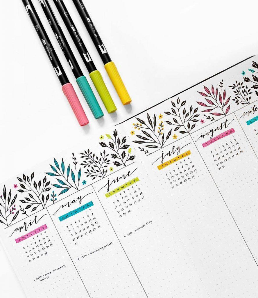 Archer-and-Olive-Kalender