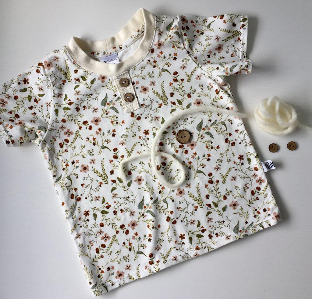 Pfündchen Lieblingsstücke-handgenäht-Babyshirt