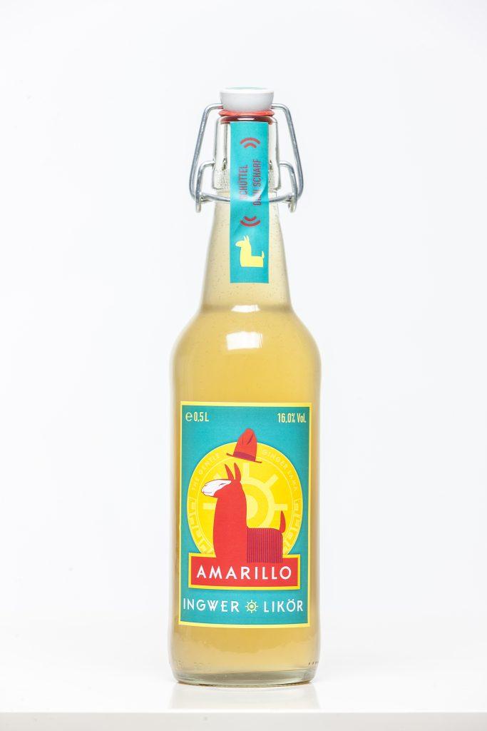 Amarillo-Manufaktur-Ingwer-Likör