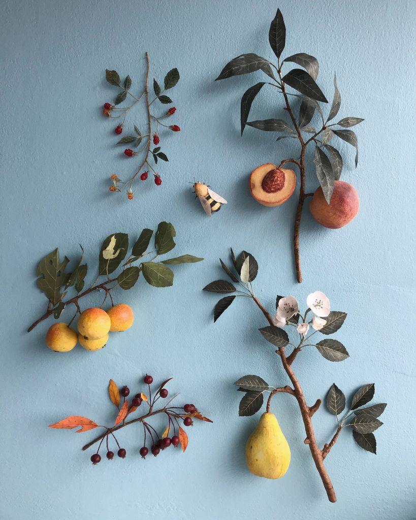 Ann-Woodlucker-fruit-artist-papierkunst