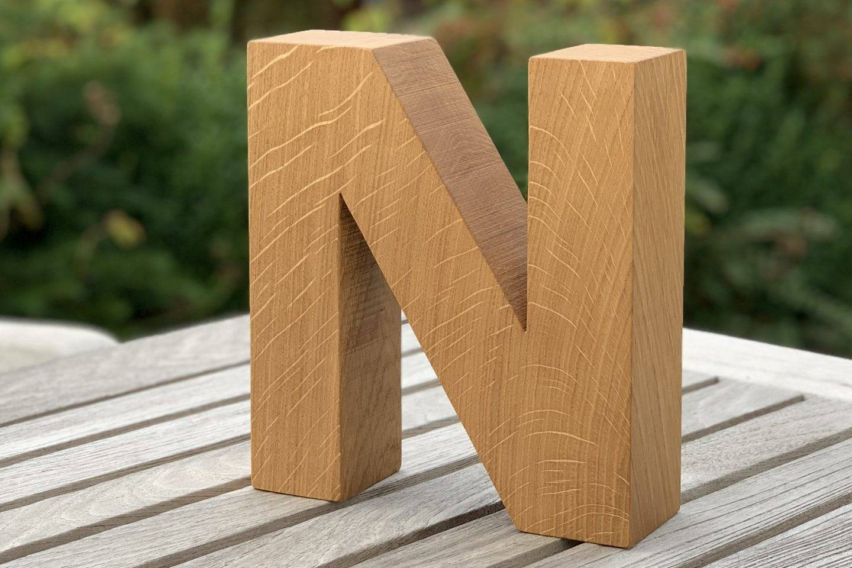 Extraholz-Holzbuchstaben