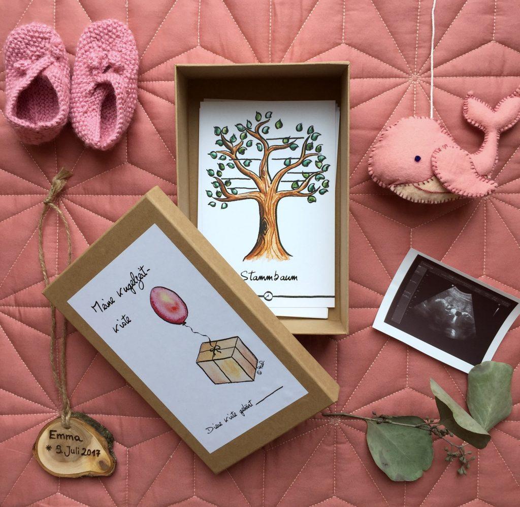 Theo-Kugelzeit-Kiste-Schwangerschaft-handgemacht