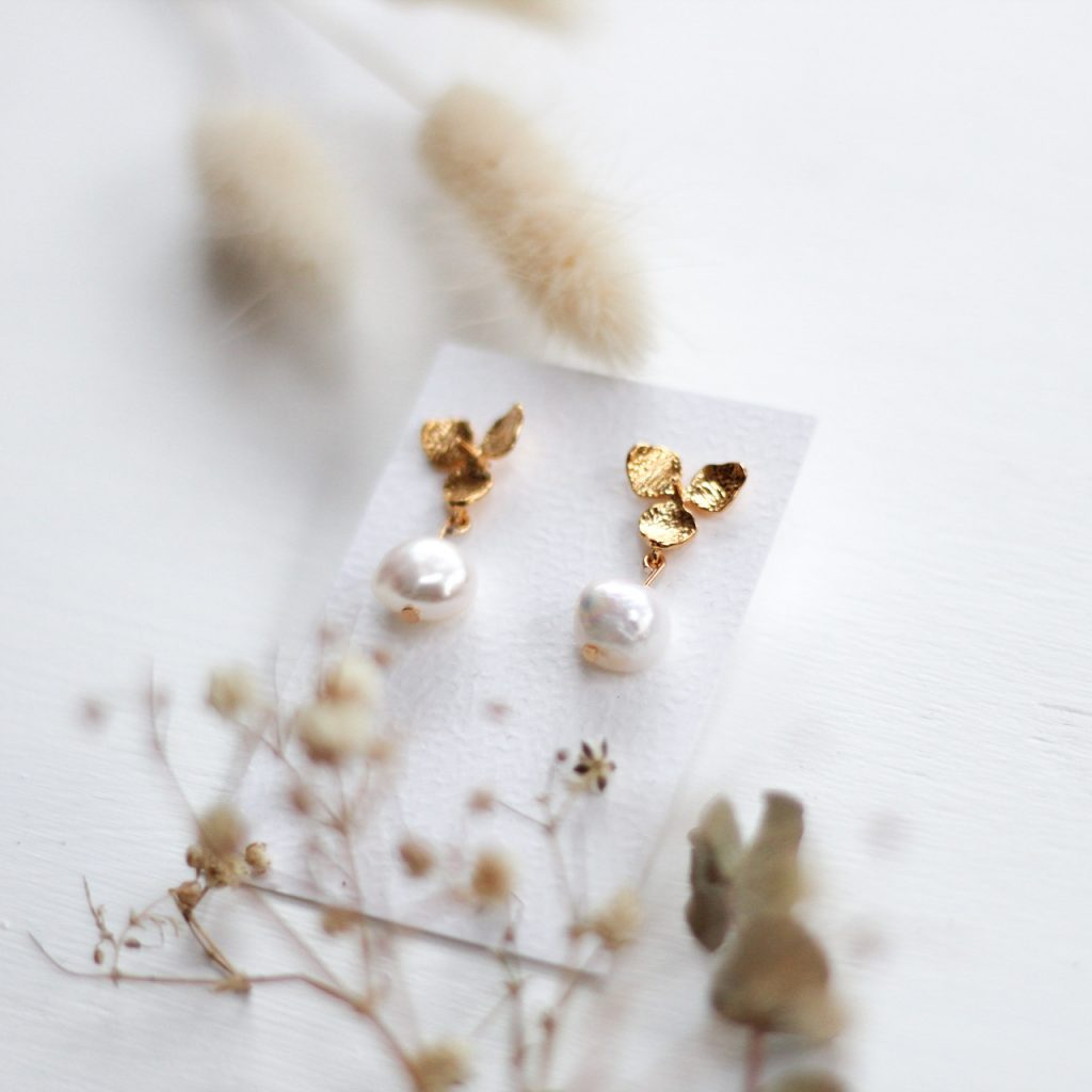 Perlenohrringe-kamajewellery