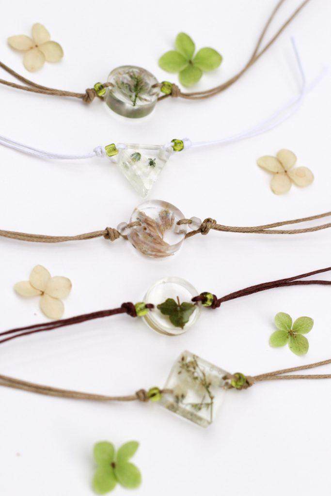 Echtblütenschmuck-kamajewellery-Armbänder