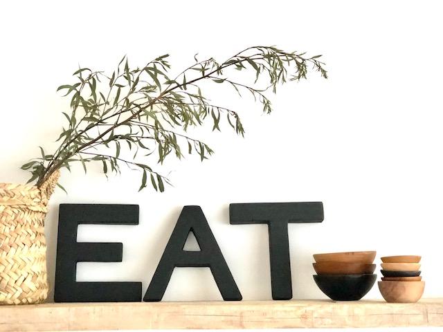 Phillis CaféLadchen-Schriftzug-Eat
