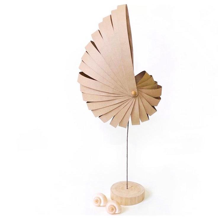 Papierlampe von Smo Eller